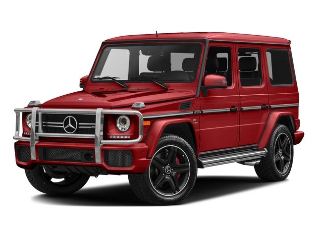 Tomato Red 2016 Mercedes-Benz G-Class Pictures G-Class 4 Door Utility 4Matic photos front view