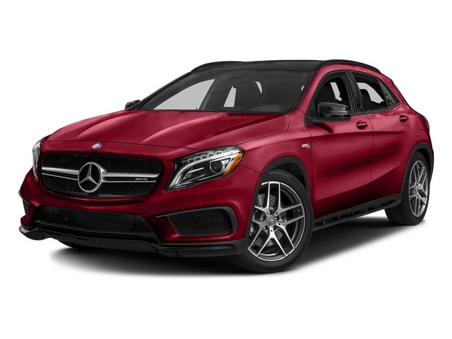 Jupiter Red 2016 Mercedes-Benz GLA Pictures GLA Utility 4D GLA45 AMG AWD I4 Turbo photos front view
