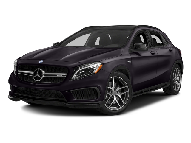 Northern Lights Violet Metallic 2016 Mercedes-Benz GLA Pictures GLA Utility 4D GLA45 AMG AWD I4 Turbo photos front view
