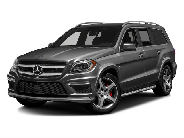 Steel Gray Metallic 2016 Mercedes-Benz GL Pictures GL Utility 4D GL63 AMG 4WD V8 photos front view