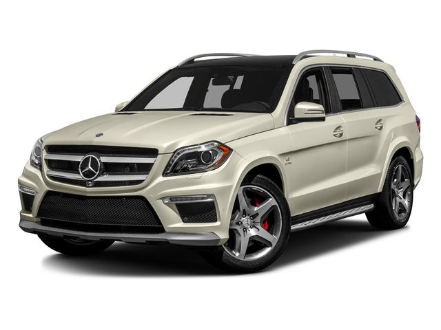 Diamond White Metallic 2016 Mercedes-Benz GL Pictures GL Utility 4D GL63 AMG 4WD V8 photos front view