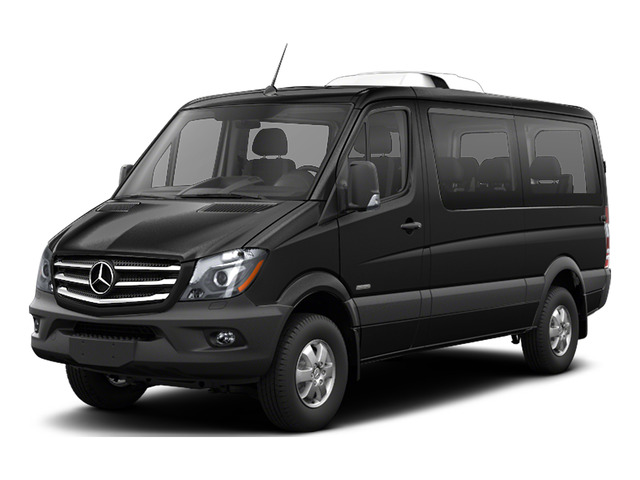 Obsidian Black Metallic 2016 Mercedes-Benz Sprinter Passenger Vans Pictures Sprinter Passenger Vans Passenger Van photos front view