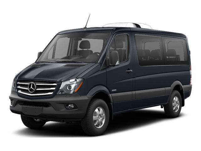 Graphite Gray 2016 Mercedes-Benz Sprinter Passenger Vans Pictures Sprinter Passenger Vans Passenger Van photos front view