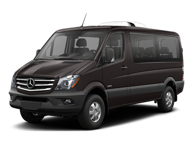 Earth Brown 2016 Mercedes-Benz Sprinter Passenger Vans Pictures Sprinter Passenger Vans Passenger Van photos front view