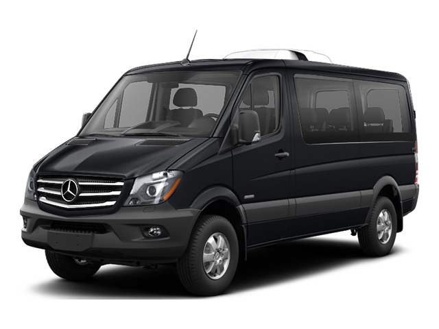 Black Blue 2016 Mercedes-Benz Sprinter Passenger Vans Pictures Sprinter Passenger Vans Passenger Van photos front view