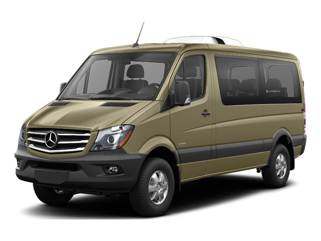 Pebble Gray 2016 Mercedes-Benz Sprinter Passenger Vans Pictures Sprinter Passenger Vans Passenger Van photos front view