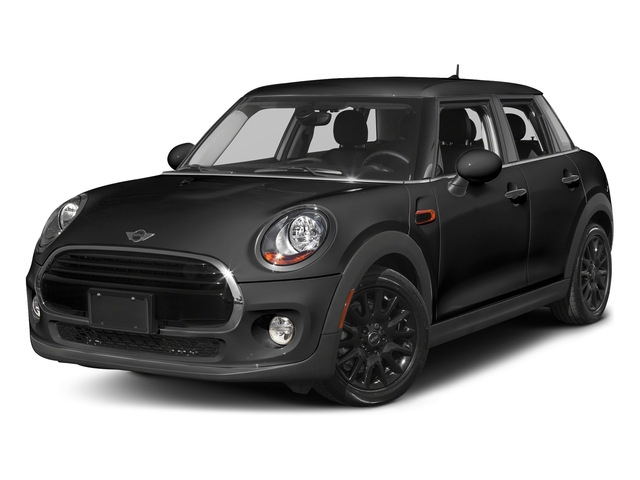Midnight Black Metallic 2016 MINI Cooper Hardtop 4 Door Pictures Cooper Hardtop 4 Door Wagon 4D I3 Turbo photos front view