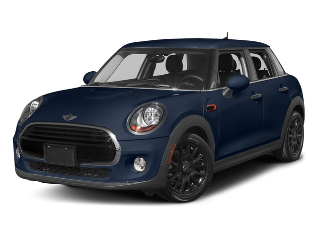Deep Blue Metallic 2016 MINI Cooper Hardtop 4 Door Pictures Cooper Hardtop 4 Door Wagon 4D I3 Turbo photos front view