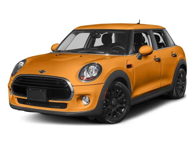 Volcanic Orange 2016 MINI Cooper Hardtop 4 Door Pictures Cooper Hardtop 4 Door Wagon 4D I3 Turbo photos front view