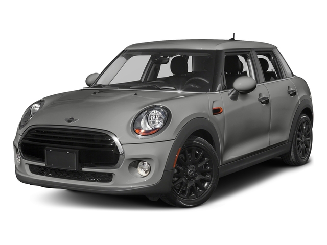 Moonwalk Grey Metallic 2016 MINI Cooper Hardtop 4 Door Pictures Cooper Hardtop 4 Door Wagon 4D I3 Turbo photos front view