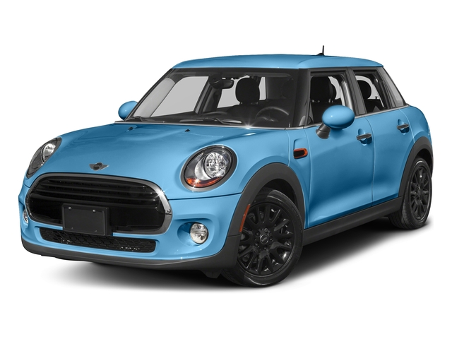 Electric Blue Metallic 2016 MINI Cooper Hardtop 4 Door Pictures Cooper Hardtop 4 Door Wagon 4D I3 Turbo photos front view