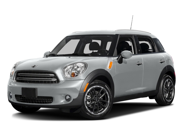 Light White 2016 MINI Cooper Countryman Pictures Cooper Countryman Wgn 4D Countryman JCW AWD I4 Turbo photos front view