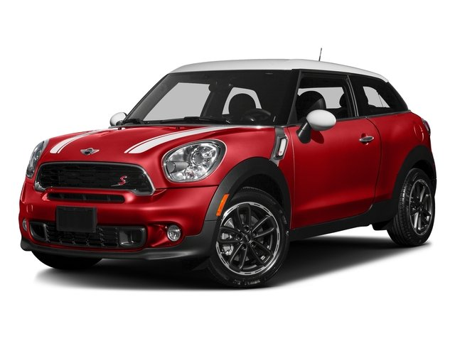 Chili Red 2016 MINI Cooper Paceman Pictures Cooper Paceman Coupe 2D Paceman JCW AWD I4 Turbo photos front view