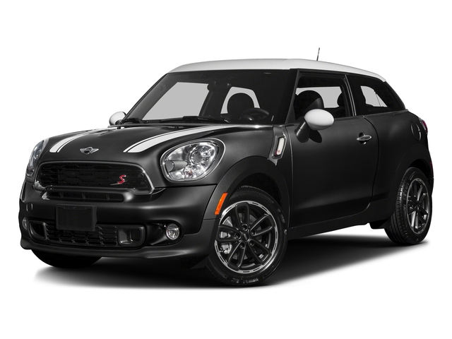 Absolute Black Metallic 2016 MINI Cooper Paceman Pictures Cooper Paceman Coupe 2D Paceman JCW AWD I4 Turbo photos front view