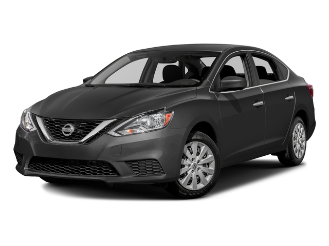 Gun Metallic 2016 Nissan Sentra Pictures Sentra Sedan 4D SV I4 photos front view