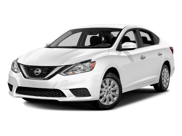 Aspen White Pearl 2016 Nissan Sentra Pictures Sentra Sedan 4D SV I4 photos front view