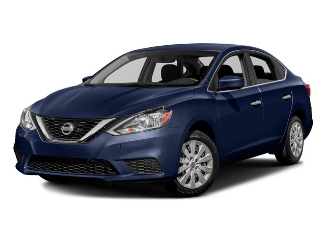 Deep Blue Pearl 2016 Nissan Sentra Pictures Sentra Sedan 4D SV I4 photos front view