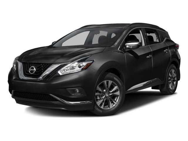 Magnetic Black Metallic 2016 Nissan Murano Pictures Murano Utility 4D S 2WD V6 photos front view