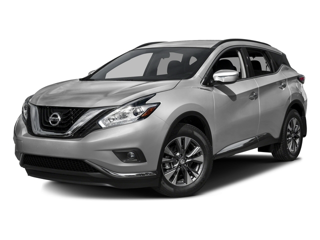 Brilliant Silver Metallic 2016 Nissan Murano Pictures Murano Utility 4D S 2WD V6 photos front view