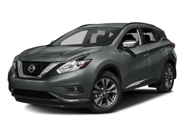 Gun Metallic 2016 Nissan Murano Pictures Murano Utility 4D S AWD V6 photos front view