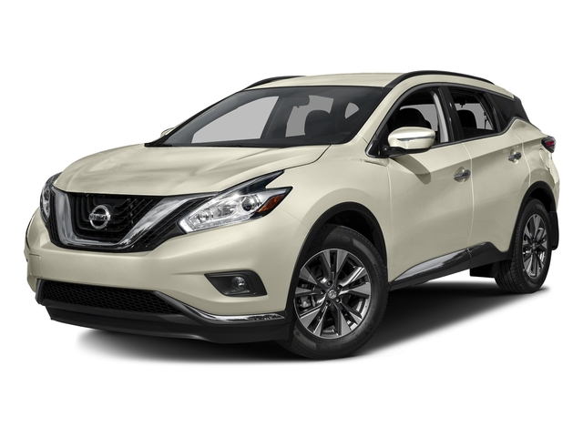 Pearl White 2016 Nissan Murano Pictures Murano Utility 4D S AWD V6 photos front view