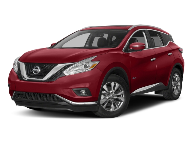 Cayenne Red Metallic 2016 Nissan Murano Pictures Murano Utility 4D SL 2WD I4 Hybrid photos front view