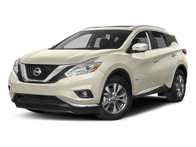 Pearl White 2016 Nissan Murano Pictures Murano Utility 4D SL 2WD I4 Hybrid photos front view