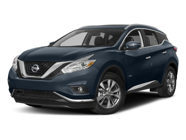 Arctic Blue Metallic 2016 Nissan Murano Pictures Murano Utility 4D SL 2WD I4 Hybrid photos front view