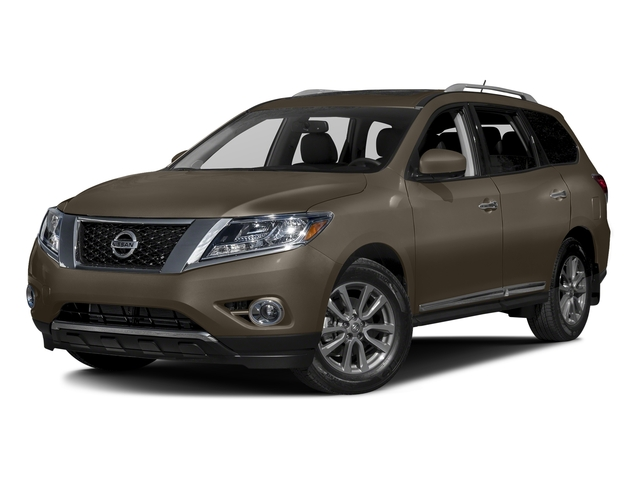 Java Metallic 2016 Nissan Pathfinder Pictures Pathfinder Utility 4D SL 4WD V6 photos front view