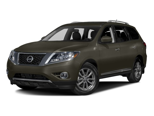 Midnight Jade Metallic 2016 Nissan Pathfinder Pictures Pathfinder Utility 4D SL 4WD V6 photos front view