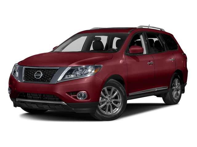 Cayenne Red Metallic 2016 Nissan Pathfinder Pictures Pathfinder Utility 4D Platinum 4WD V6 photos front view