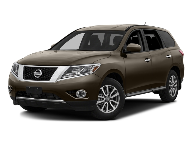 Java Metallic 2016 Nissan Pathfinder Pictures Pathfinder Utility 4D SV 2WD V6 photos front view