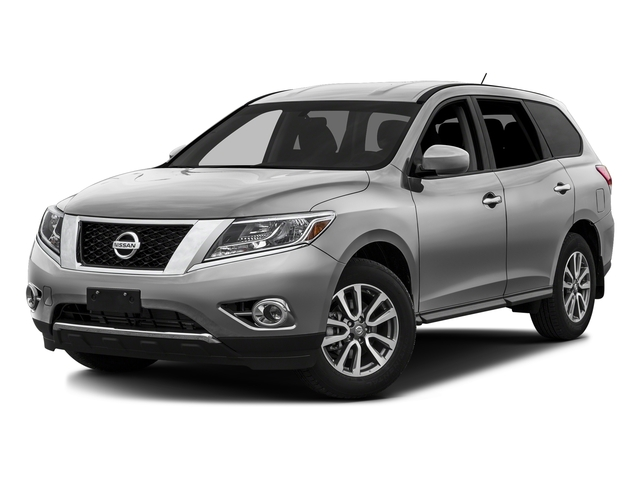 Brilliant Silver Metallic 2016 Nissan Pathfinder Pictures Pathfinder Utility 4D SV 2WD V6 photos front view