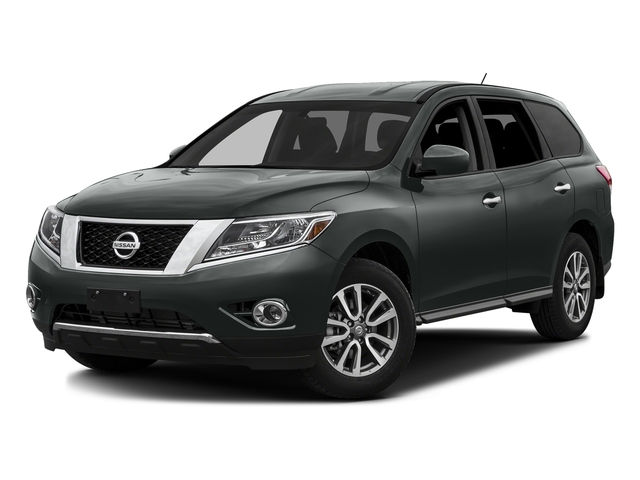 Gun Metallic 2016 Nissan Pathfinder Pictures Pathfinder Utility 4D SV 2WD V6 photos front view