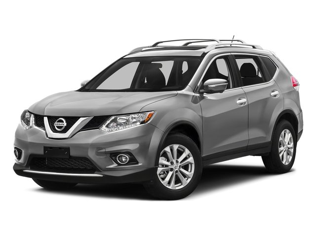 Brilliant Silver 2016 Nissan Rogue Pictures Rogue Utility 4D SV AWD I4 photos front view