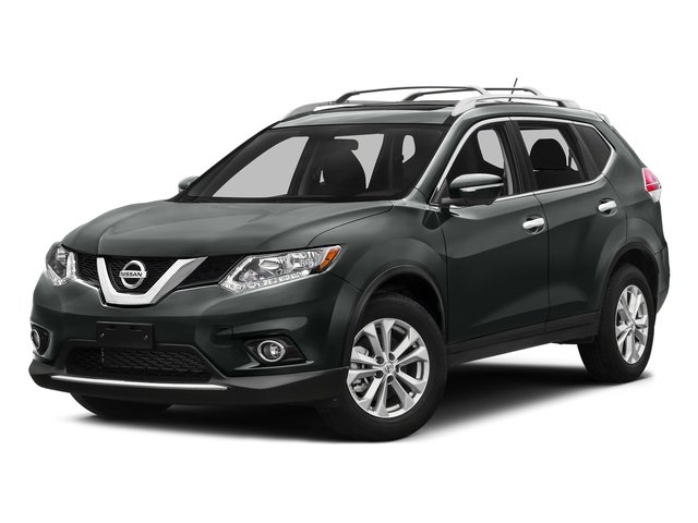 Gun Metallic 2016 Nissan Rogue Pictures Rogue Utility 4D SV AWD I4 photos front view