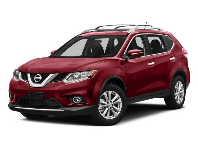 Cayenne Red 2016 Nissan Rogue Pictures Rogue Utility 4D SV AWD I4 photos front view