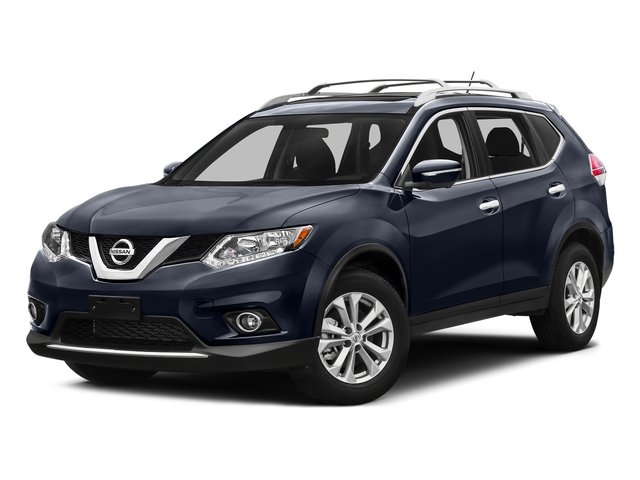 Arctic Blue Metallic 2016 Nissan Rogue Pictures Rogue Utility 4D SV AWD I4 photos front view