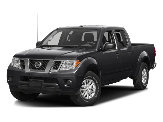 Magnetic Black 2016 Nissan Frontier Pictures Frontier Crew Cab SV 4WD photos front view