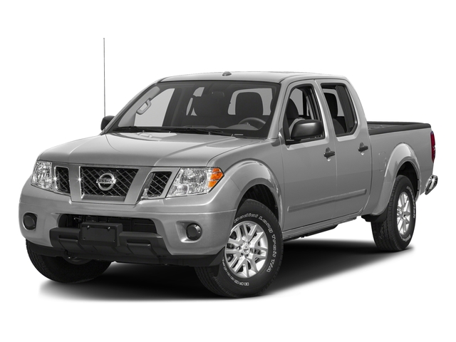 Brilliant Silver 2016 Nissan Frontier Pictures Frontier Crew Cab SV 4WD photos front view
