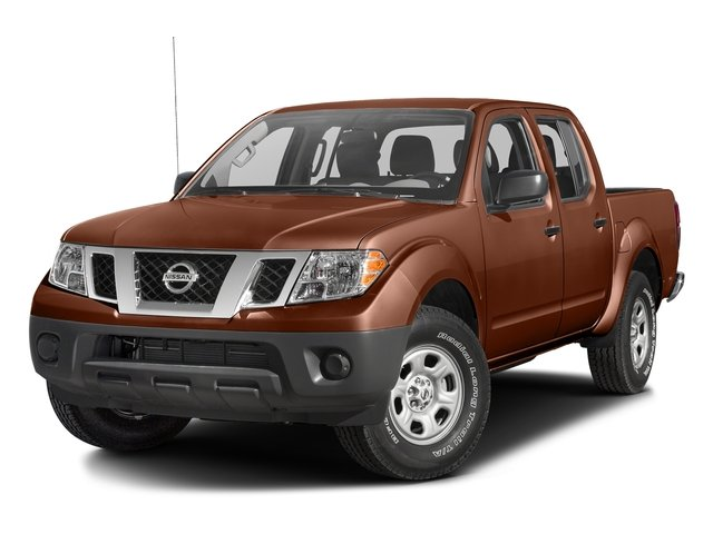 Forged Copper 2016 Nissan Frontier Pictures Frontier Crew Cab S 2WD photos front view
