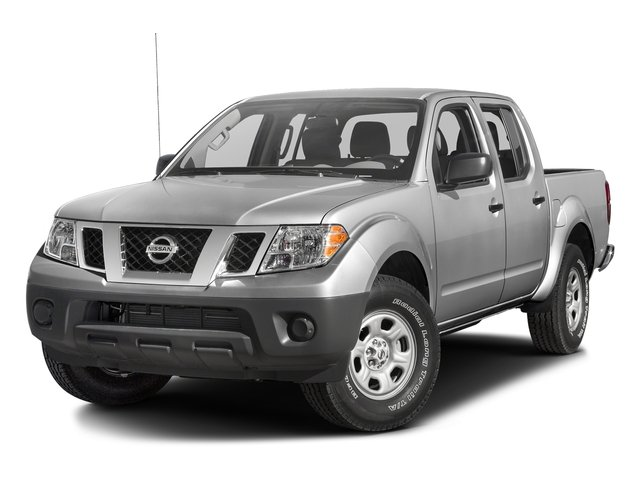 Brilliant Silver 2016 Nissan Frontier Pictures Frontier Crew Cab S 2WD photos front view