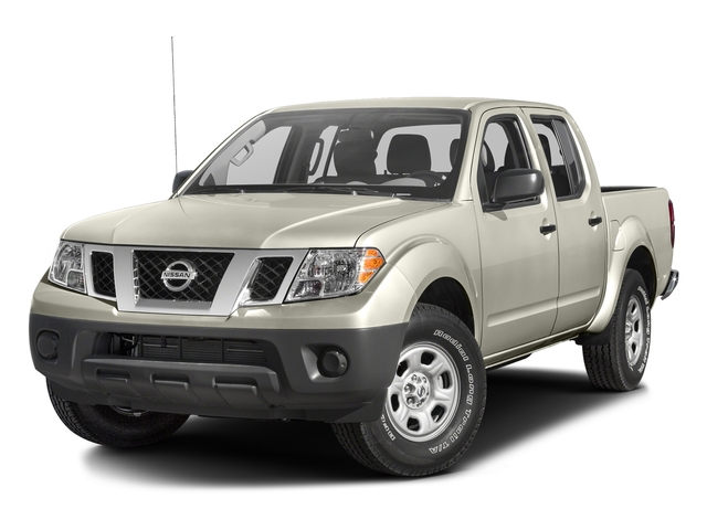 Glacier White 2016 Nissan Frontier Pictures Frontier Crew Cab S 2WD photos front view