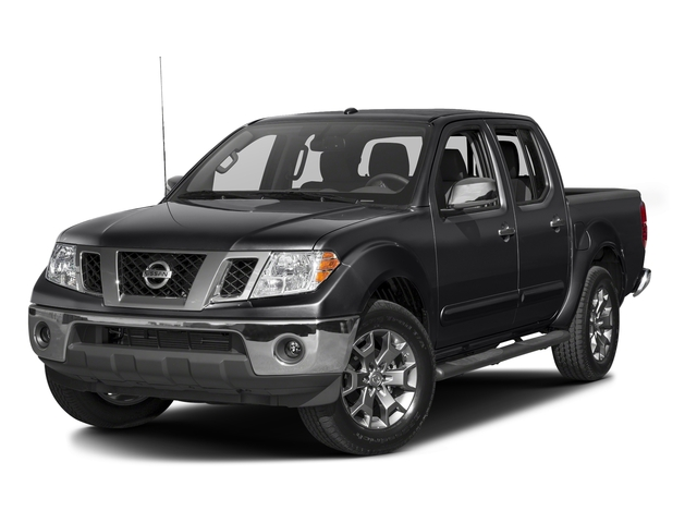 Magnetic Black 2016 Nissan Frontier Pictures Frontier Crew Cab SL 4WD photos front view