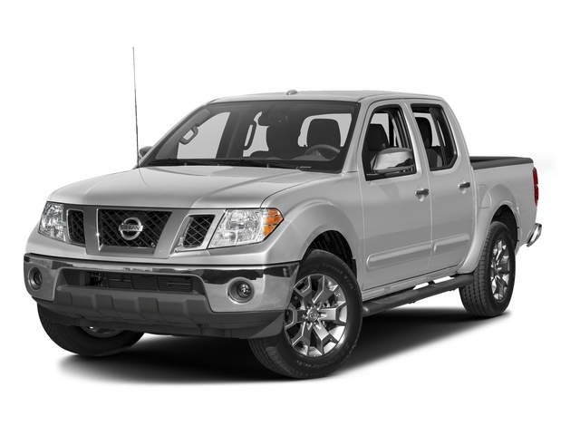 Brilliant Silver 2016 Nissan Frontier Pictures Frontier Crew Cab SL 4WD photos front view