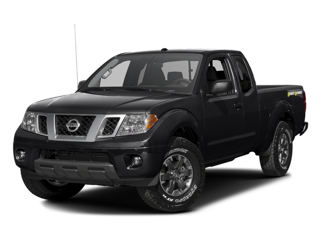 Magnetic Black 2016 Nissan Frontier Pictures Frontier King Cab Desert Runner 2WD photos front view
