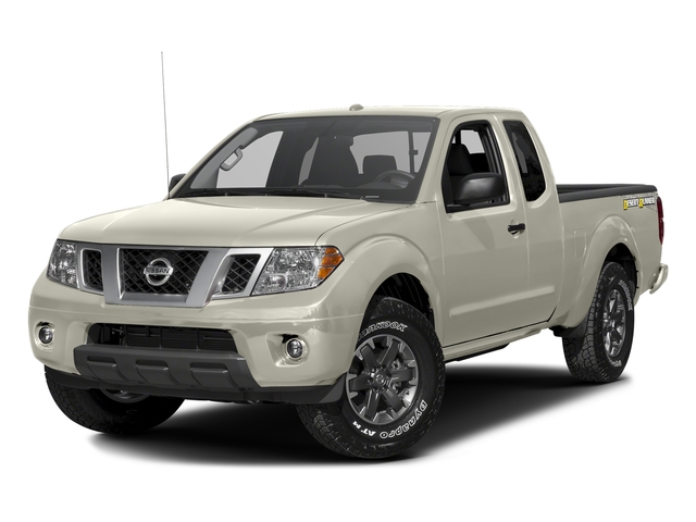 Glacier White 2016 Nissan Frontier Pictures Frontier King Cab Desert Runner 2WD photos front view