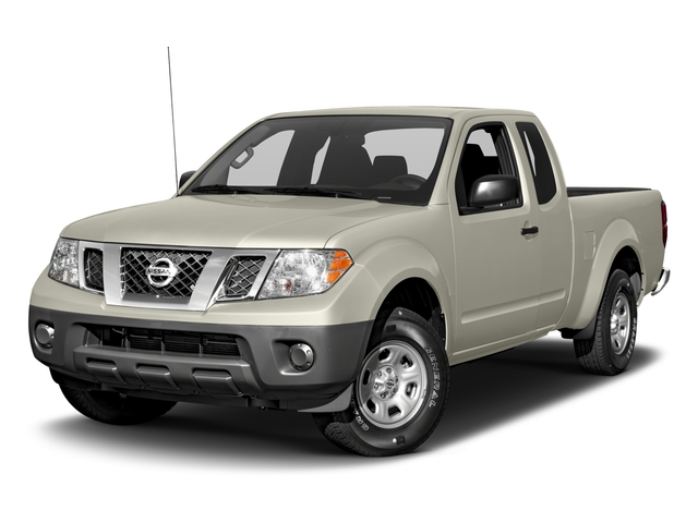 Glacier White 2016 Nissan Frontier Pictures Frontier King Cab S 2WD photos front view