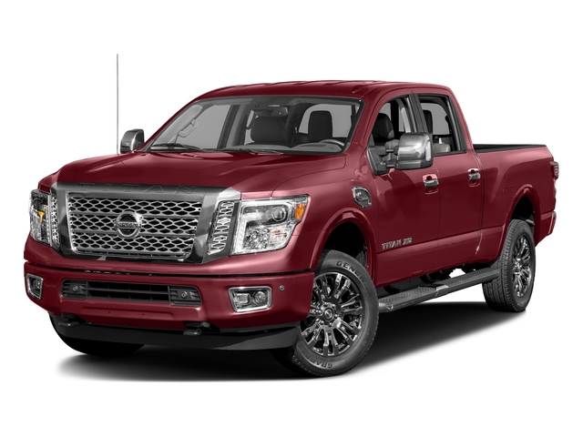 Cayenne Red 2016 Nissan Titan XD Pictures Titan XD Crew Cab Platinum Reserve 4WD V8 photos front view