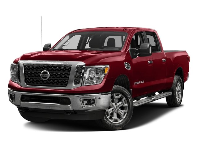 Cayenne Red 2016 Nissan Titan XD Pictures Titan XD Crew Cab SV 2WD V8 photos front view